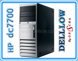 HP Compaq dc7700 Pentium D 3,4GHz, 2048MB, 160GB, DVD-RW, WIN XP PRO