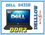 DELL Latitude E4310 i5-560M 2,66GHz / 4GB / 250GB / DVD-RW / CAM / WiFi / Bluetooth / WWAN 3G / Win 7 PRO