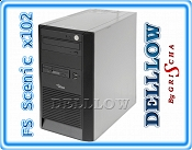 Fujitsu-Siemens Scenic Edition X102 P4 3,06GHz, 1024MB, 160GB, DVD, WIN XP PRO TOWER SUPER CENA