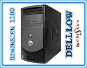 DELL DIMENSION 1100 2.8GHz 512MB 40GB DVD Mini Tower  Win XP PRO lub HOME
