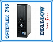 DELL Optiplex 745 Pentium D DUAL  3,0 GHz 4MB cache / 2 GB / 80 GB / DVD / Win XP