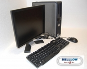 Zestaw Dell GX620 3.0Ghz, 1024MB, 80GB, DVD-RW, Windows XP Professional, + monitor Dell e177FP