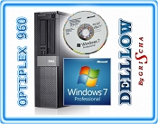 Dell OptiPlex 960 QUAD Q9550 4x 2,83GHz 12MB, 4GB, 250GB, DVD-RW z systemem Windows 7 Professional