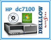 HP dc7100 2,8GHz / 1GB / 80GB / DVD z systemem Windows 7 HP PL