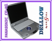 PANASONIC TOUGHBOOK CF-X1 600MHz 128MB 20GB DVD Multimedia