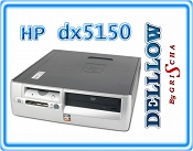 HP dx5150 AMD Athlon 64 x2 Dual Core 1,99ghz 1024mb 80gb dvd Win XP PRO Super Cena