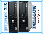 DELL Optiplex 745 Pentium 4 3,2 GHz HT / 2 GB / 80 GB / DVD / Win XP PRO