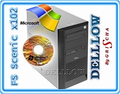 Fujitsu-Siemens Scenic Edition X102 P4 3,06GHz, 1024MB, 80GB, DVD, WIN XP PRO TOWER + XP PRO PL ZAINSTALOWANY