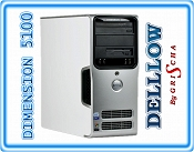 Dell Dimension 5150 3,4GHz 2GB DDR2, 160GB, DVD-RW, WIN XP PRO TOWER