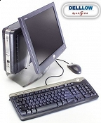 Zestaw Dell SX270 HT 2,4GHz, 512MB, 20GB Windows 2000 + monitor DELL 1504FP