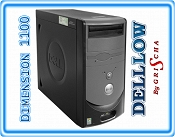 DELL DIMENSION 1100 P4 2.8GHz 2GB 80GB DVD Mini Tower XP PRO