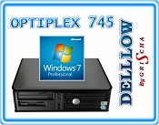 Dell 745 C2D E6400 2,13Hz / 2GB / 80GB / DVD z systemem Windows 7 PRO PL