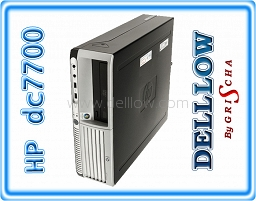 HP compaq dc7700 E6300 Core 2 Duo 1.86GHz, 2048MB, 80GB, COMBO, Win XP PRO
