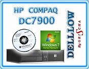 HP Compaq dc7900 Core 2 QUAD Q9400 4x 2,66GHz 4GB 160GB DVD-RW z Windows 7 Home Premium 32+64BIT