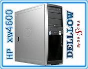 HP xw4600 Workstation Core 2 QUAD Q6600 2,4GHz / 4GB / 160GB / DVD / NVIDIA Quadro NVS 290 / Tower