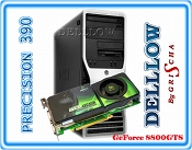 Dell Precision 390 C2D E6600 2,4GHz / 4GB / 250GB / DVD z systemem Windows 7 PROFESSIONAL 32+64BIT PL