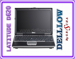 Dell Latitude D620 Core Duo 2x 1,66 GHz 1024MB 60GB COMBO WIN XP PRO